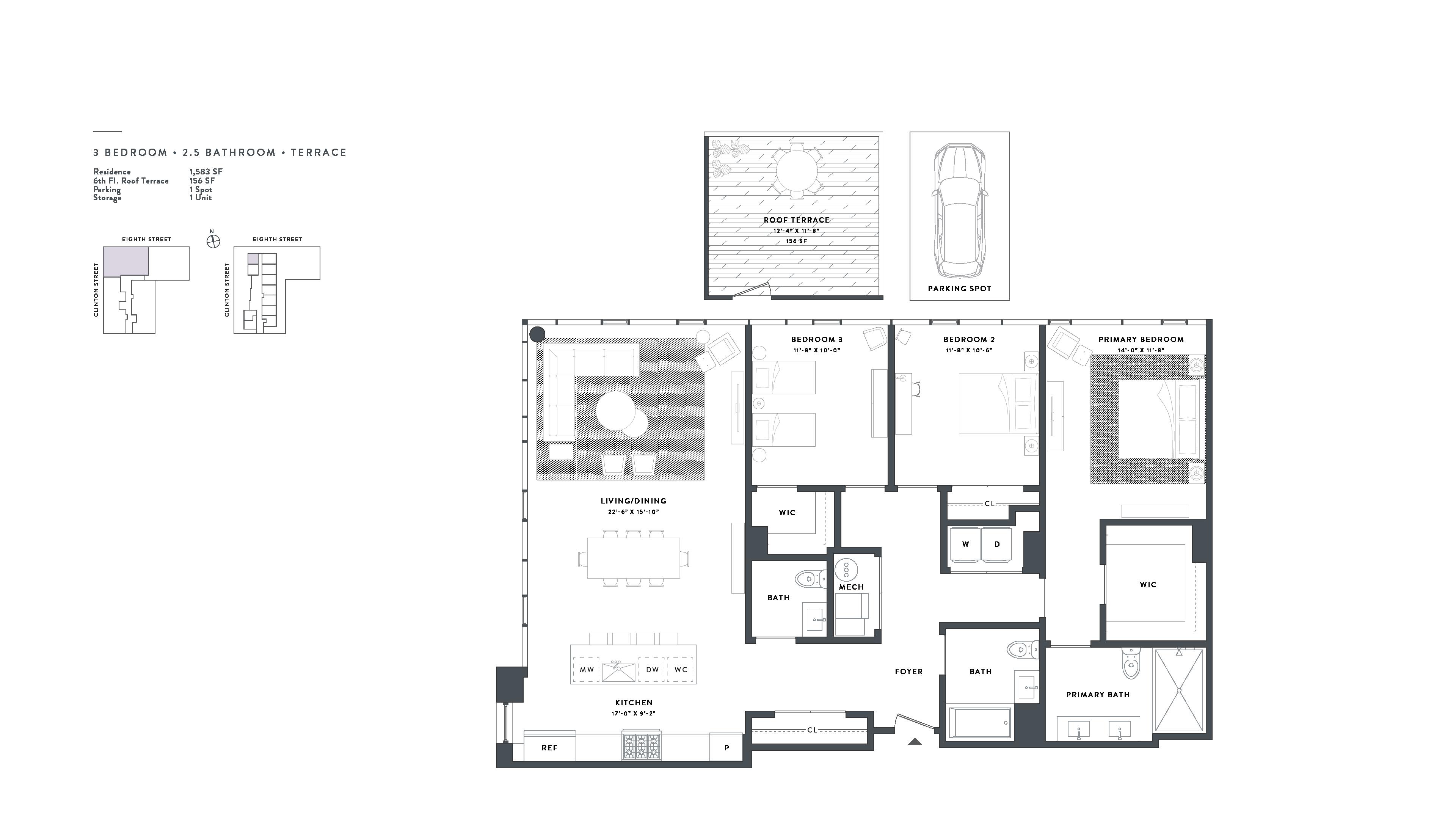 Appartment plan